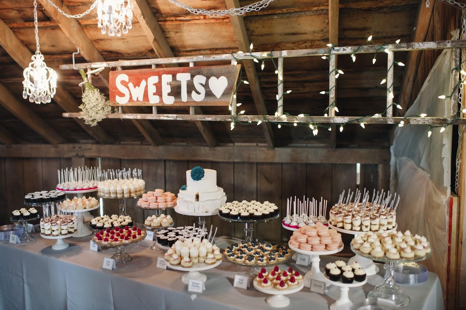 בר מתוקים לחתונה
