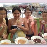 דוכני מזון לילדים