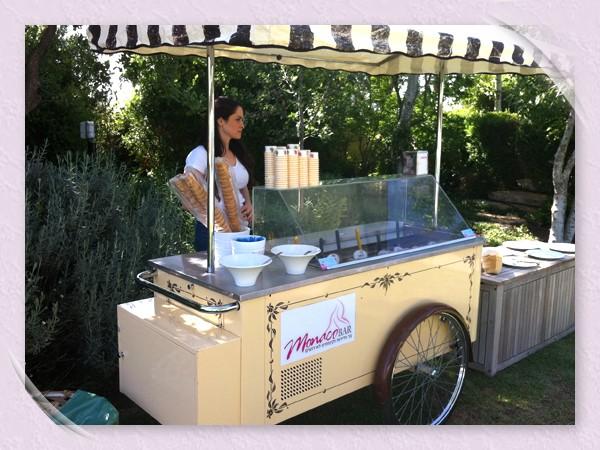 דוכני גלידה לאירועים
